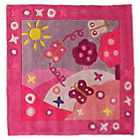 more details on Kiddy Play Summertime Girl Rug - 90x90cm.
