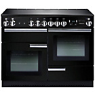 more details on Rangemaster Professional 110 Electric Range Cooker - Black.