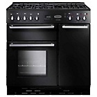 more details on Rangemaster Toledo 90 Dual Fuel Range Cooker - Black.