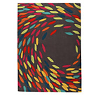 more details on Trailling Leaves Rug - 120x170cm - Multicoloured.