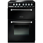 more details on Rangemaster Kitchener Double Electric Cooker - Black.