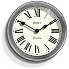 more details on Jones Giant Savoy Chrome Clock.