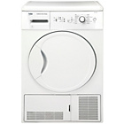 more details on Beko DCU7230W 7KG Condenser Tumble Dryer - White.