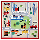 more details on Town Map Boys Rug - 133x133cm - Multicoloured.