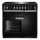 more details on Rangemaster Professional 90 Electric Range Cooker - Black.