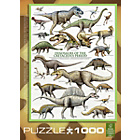 more details on Eurographics 1000 Piece Dinosaurs Cretaceous Puzzle.