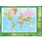 more details on Eurographics 1000 Piece Modern Map of the World Puzzle.