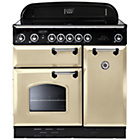 more details on Rangemaster Classic 90 Electric Range Cooker - Cream.