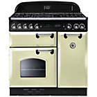 more details on Rangemaster Classic 90 Gas Range Cooker - Cream.