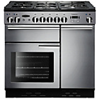more details on Rangemaster Professional 90 Dual Fuel Range Cooker- S/Steel.