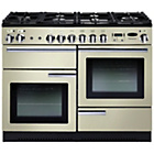 more details on Rangemaster Professional 110 Dual Fuel Range Cooker - Cream.