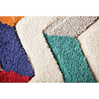 more details on Jazz Contrast Rug - 160x230cm - Multicoloured.