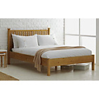 more details on Adalia Single Bed Frame - Oak Stain.