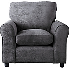 more details on HOME Tabitha Fabric Chair - Charcoal.