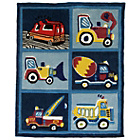 more details on Kiddy Play Trucks Boy Rug - 80x100cm.