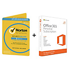 more details on Microsoft Office 365 Personal and Norton Security - 3 User.
