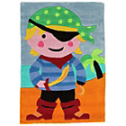 more details on Kiddy Play Pirate Rug - 70x100cm - Multicoloured.