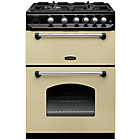 more details on Rangemaster Classic Double Gas Cooker - Cream.