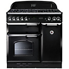 more details on Rangemaster Classic 90 Gas Range Cooker - Black.