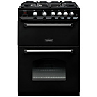 more details on Rangemaster Classic Double Gas Cooker - Black.