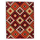 more details on Funky Mosaic Rug - 120x160cm - Terracotta.