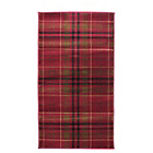 more details on Tartan Rug - 160x230cm - Red.