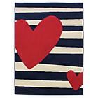 more details on Funky Hearts Rug - 120x160cm - Multicoloured.