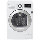 more details on LG FH4A8TDN2 8KG 1400 Spin Washing Machine - White.