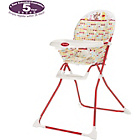 more details on Obaby Disney Winnie the Pooh Highchair - Red.