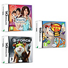 more details on G-Force, Phineas and Ferb, Wizards of Waverly Place DS Pack.