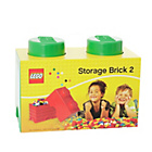 more details on LEGO® Storage Brick 2 - Green.