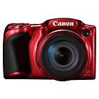 more details on Canon Powershot SX420 20MP 42x Zoom Bridge Camera - Red.
