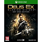 more details on Deus Ex: Mankind Divided Xbox One Pre-order Game.