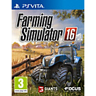 more details on Farming Simulator 16 PS Vita Game.