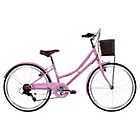 more details on Kingston Delight 24 Inch Pink Bike - Girl's.