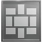 more details on Premier Housewares 9 Photo Frame - Grey.