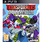 more details on Transformers Devastation PS3 Game.