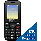 more details on Virgin Alcatel 10.16 Mobile Phone - Red and White.