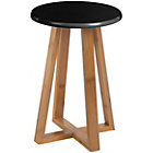 more details on Premier Housewares Viborg Round Bamboo Stool - Black.