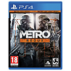 more details on Metro Redux PS4 Game.