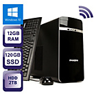 more details on Zoostorm Core i5 12GB 2TB 120GB SSD Desktop PC.