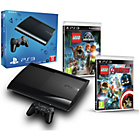 more details on Sony PS3 Slim Console 12GB Hard Drive LEGO Jurassic World.