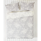more details on Collection Lottie Grey and White Bedding Set - Double.