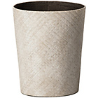 more details on Premier Housewares Pandanus Round Waste Basket - White.