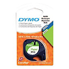 more details on DYMO LetraTag Tape 12mm - Paper/White.