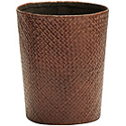 more details on Premier Housewares Pandanus Bath Bin - Brown.