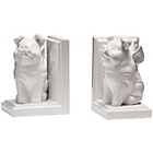 more details on Premier Housewares Flying Pig Bookends - White.