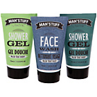 more details on Man'stuff Wash Bag Gift Set.