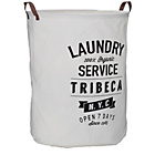 more details on Premier Housewares Tribeca Laundry Bag - White.