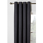 more details on Heart of House Hudson Lined Eyelet Curtains -168x183- Slate.